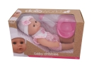DOLLS WORLD DRIKKE OG TISSEDUKKE 30CMM/P