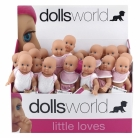 DOLLS WORLD LITTLE BABY MED HARD KROPP